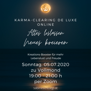KarmaClearing Vollmond